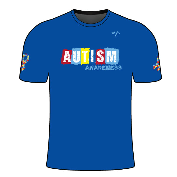 YOUTH AUTISM TEXT SHIRT