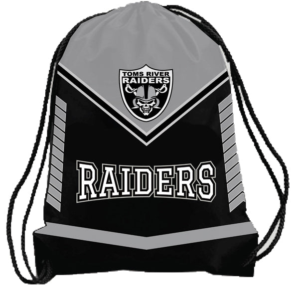 TOMS RIVER RAIDERS DRAWSTRING BAG