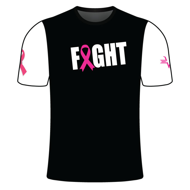 EVO BE THE HOPE BREAST CANCER SHORT SLEEVE SHIRT