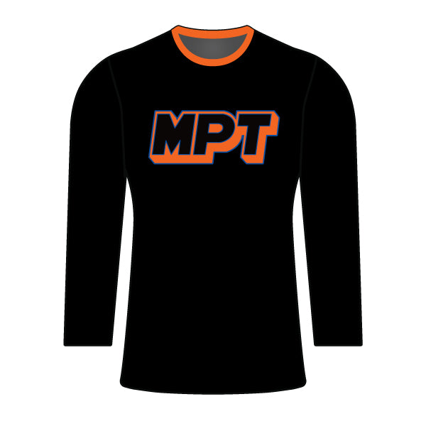MPT WOMENS BLACK LONG SLEEVE JERSEY