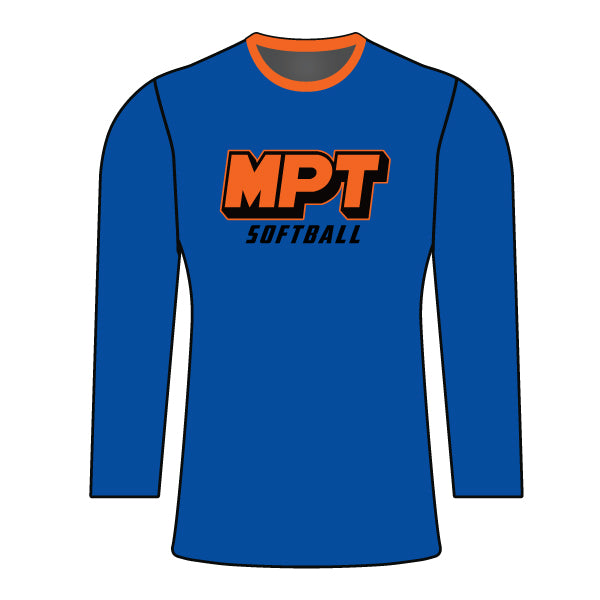 MPT WOMENS BLUE LONG SLEEVE JERSEY