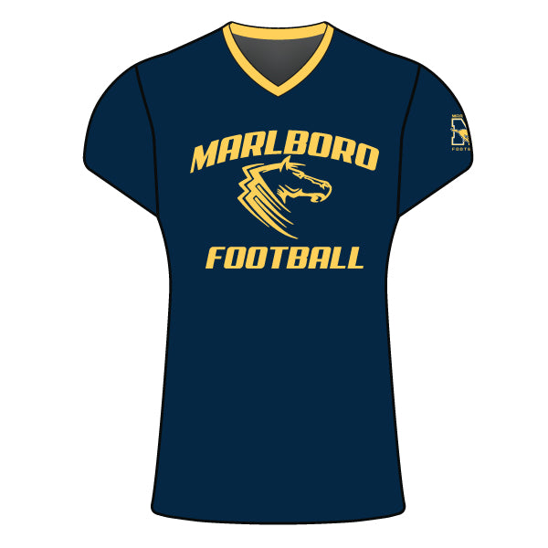 MARLBORO FOOTBALL CAP SLEEVE SHIRT