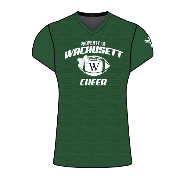 WACHUSETT CHEER CAP SLEEVE SHIRT