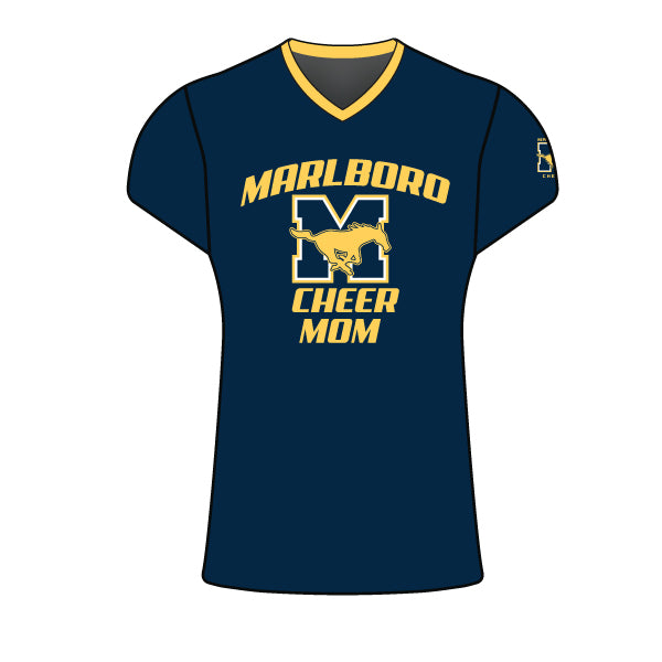 MARLBORO CHEER MOM CAP SLEEVE SHIRT
