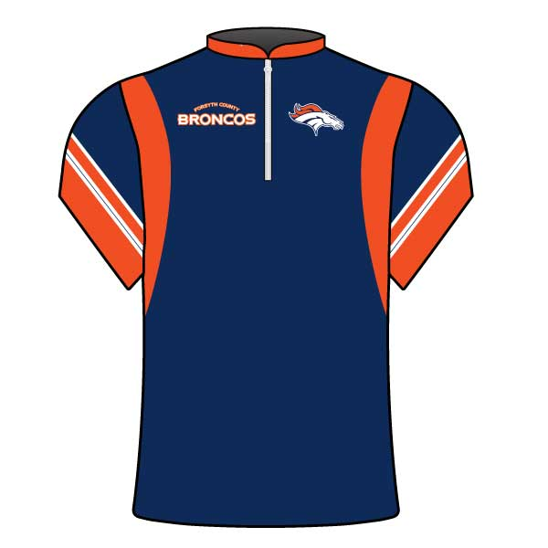 FORSYTH COUNTY BRONCOS COACHES JACKET