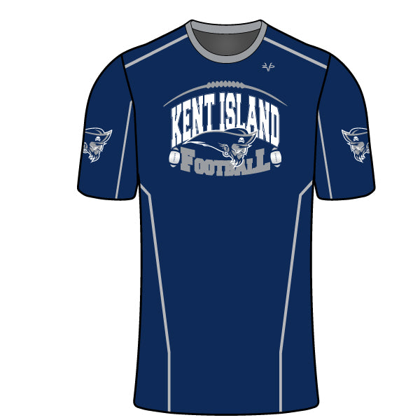 KENT ISLAND FOOTBALL COMPRESSION SHIRT