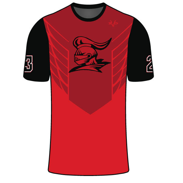 Evo9x DELSEA KNIGHTS Full Dye Sublimated Compression Shirt