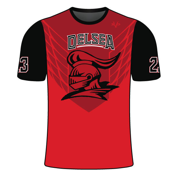 Evo9x DELSEA KNIGHTS Full Dye Sublimated Short Sleeve Shirt