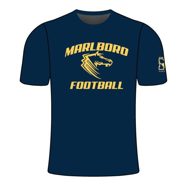 MARLBORO FOOTBALL CREW SLEEVE SHIRT