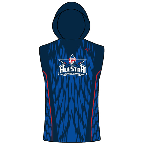 NJAYF ALL STAR COMPRESSION FIT SLEEVELESS HOODIE