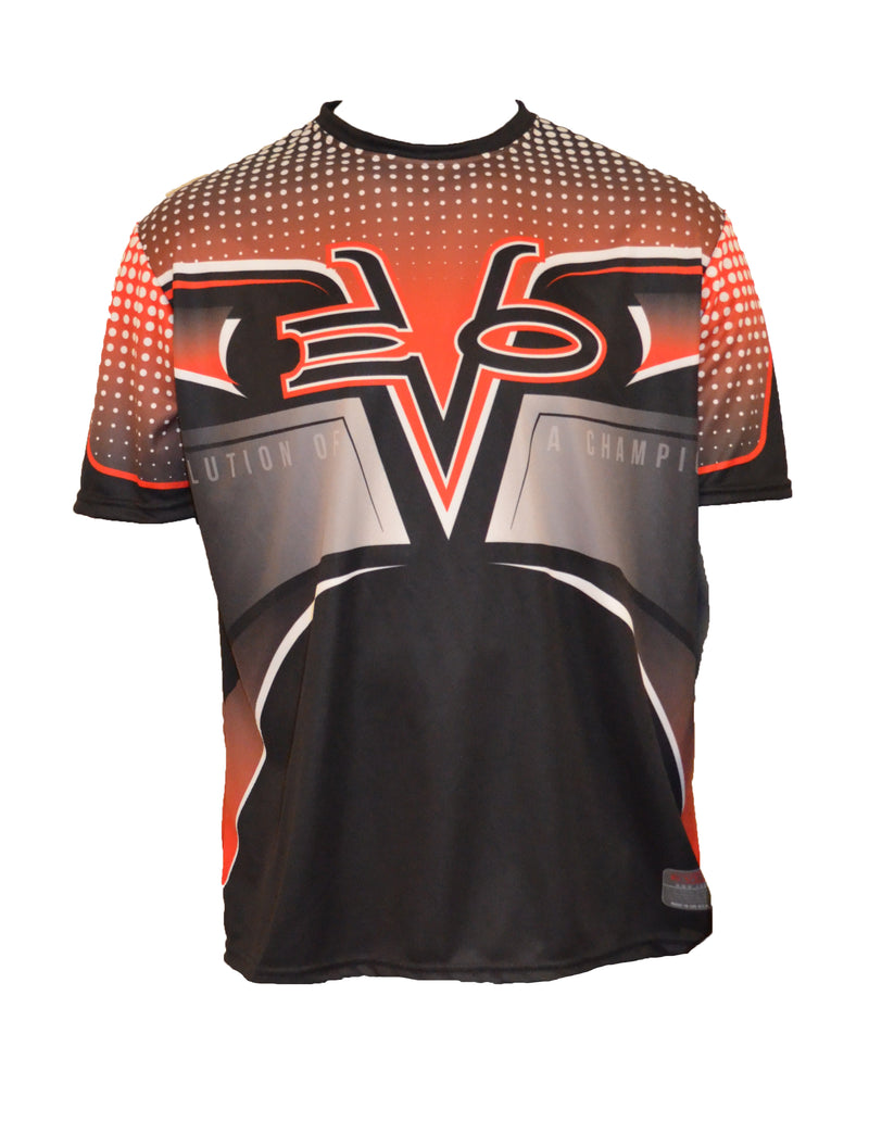 Evo9x EVO RACER Full Dye Sublimated Crew Neck Jersey