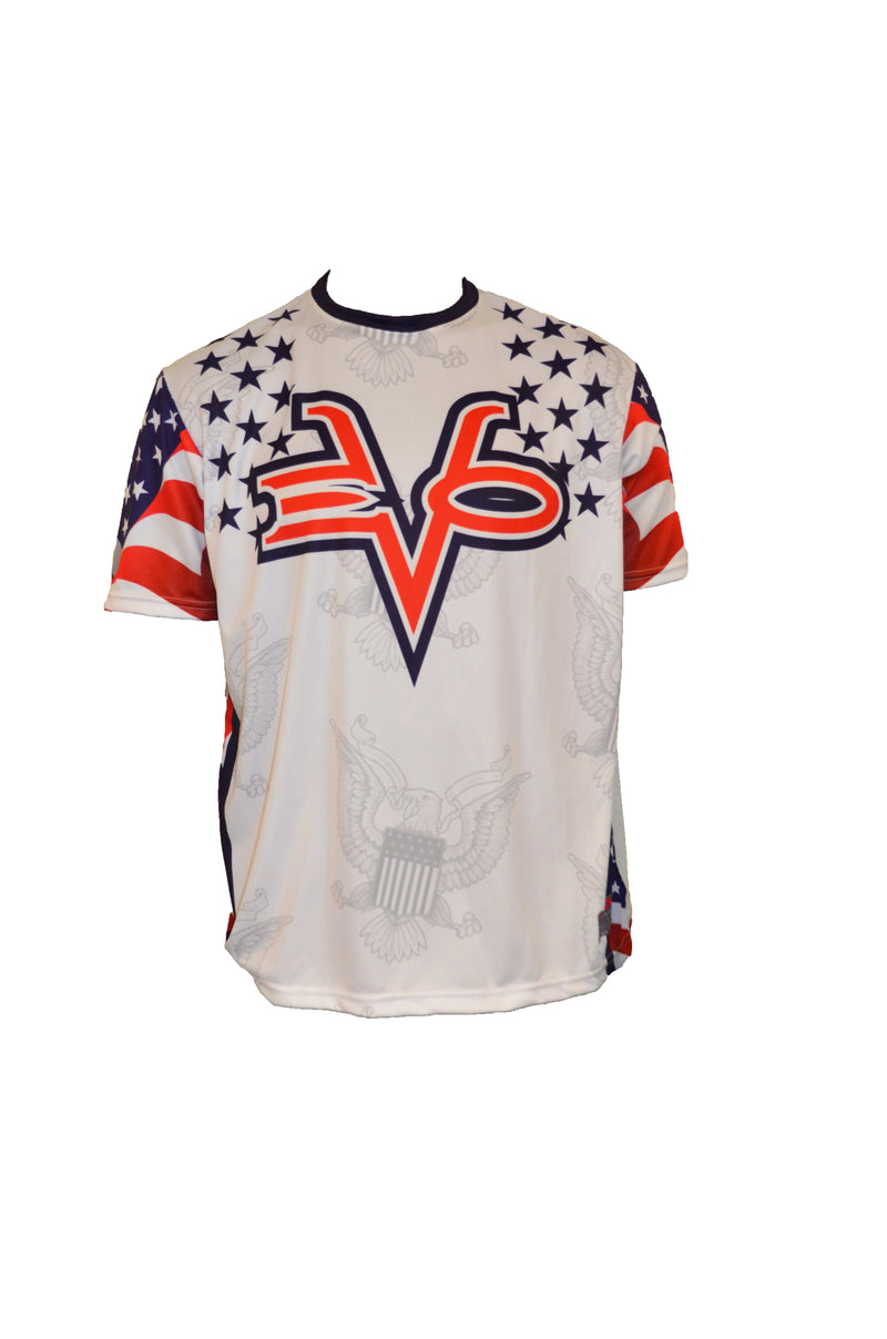 EVO STAMP USA FLAG SEAL SHIRT