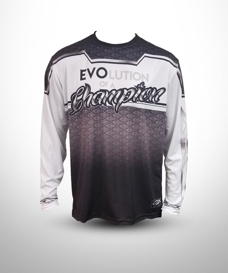 Full dye sublimated Long sleeve jersey