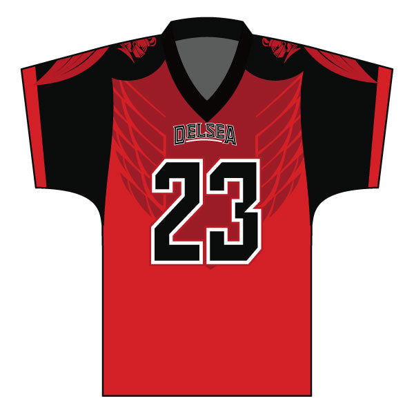 Evo9x DELSEA KNIGHTS Full Dye Sublimated Fan Jersey