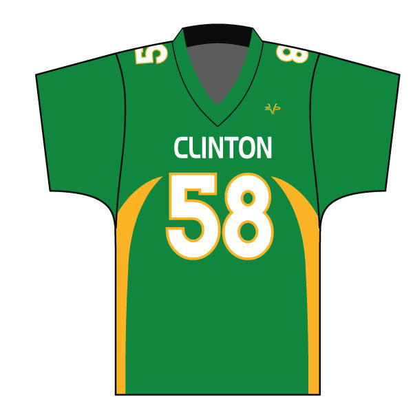 Evo9x CLINTON GAELS Full Dye Sublimated Fan Jersey Green