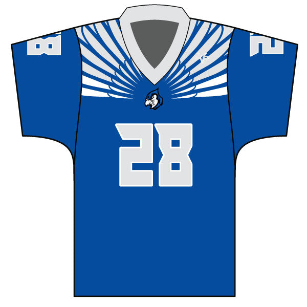 Evo9x BLUE JAYS Full Dye Sublimated Fan Jersey