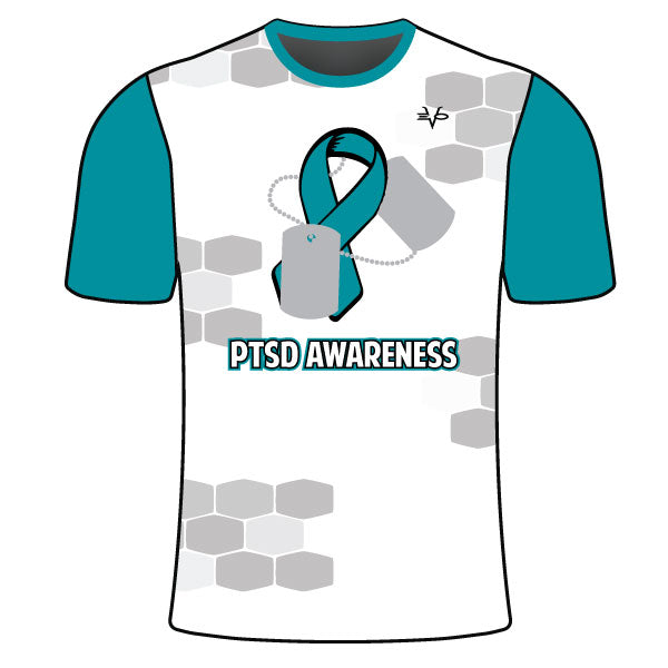YOUTH EVO PTSD AWARENESS TAGS SHIRT