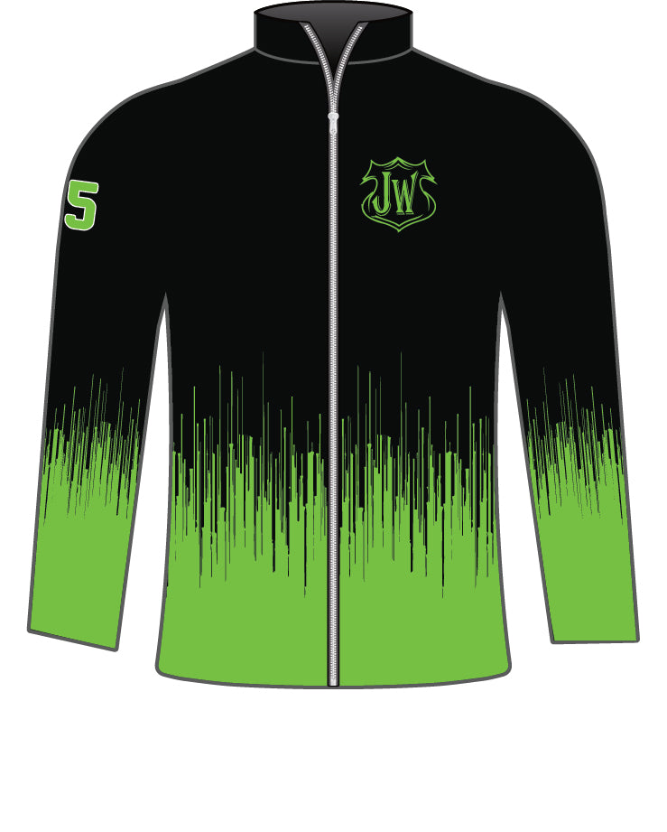 JERSEY WARRIOR SUBLIMATED FULL ZIP JACKET