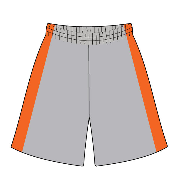 MARLBORO SOFTBALL SHORTS GREY