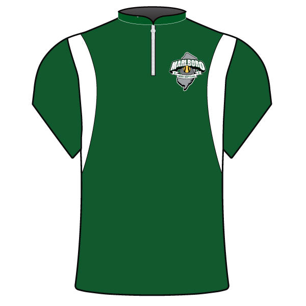 MARLBORO SOFTBALL BATTING JACKET GREEN