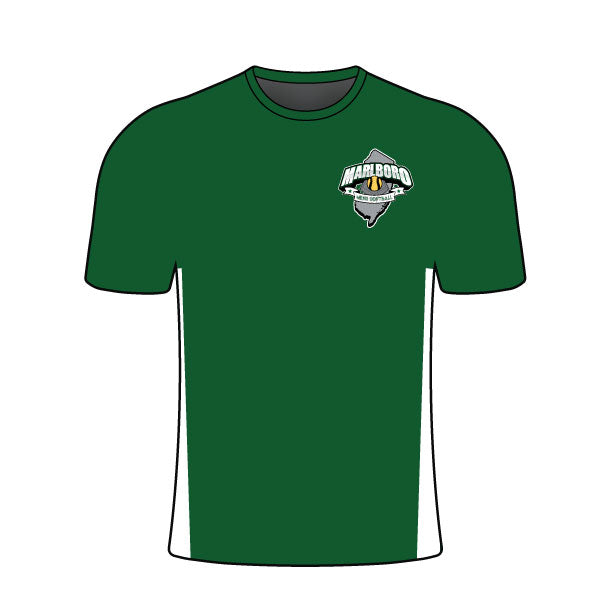 MARLBORO SOFTBALL CREW NECK SHIRT GREEN