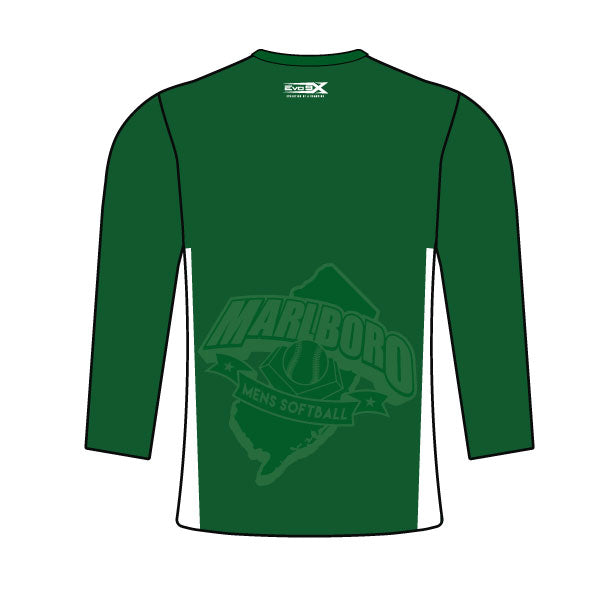 MARLBORO SOFTBALL LONG SLEEVE SHIRT GREEN