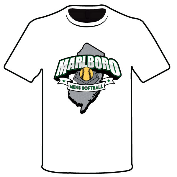 MARLBORO SOFTBALL SEMI SUB GREEN LOGO