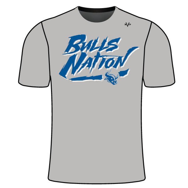 BELTSVILLE BULLS NATION SEMI SUB SHIRT GREY