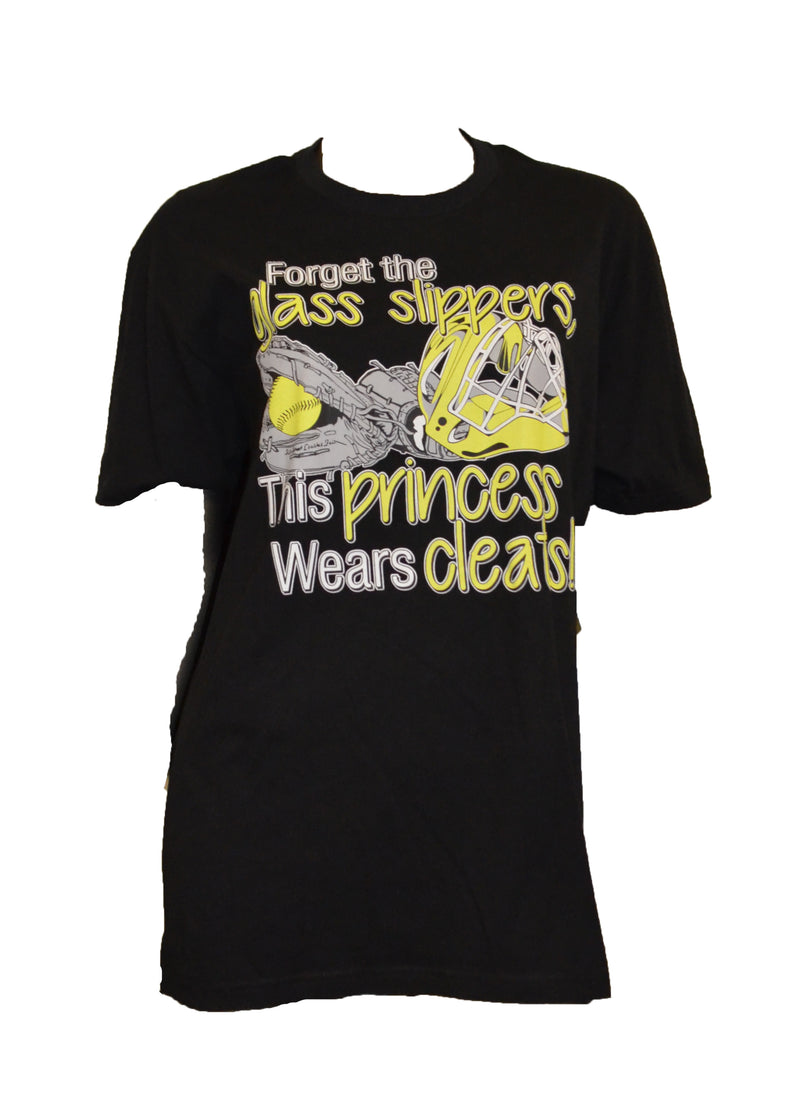 WOMENS GLASS SLIPPER CLEATS SHIRT CLEARANCE