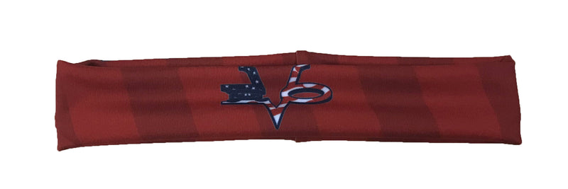 Evo9x EVO Full Dye Sublimated Flag Stripes Headband