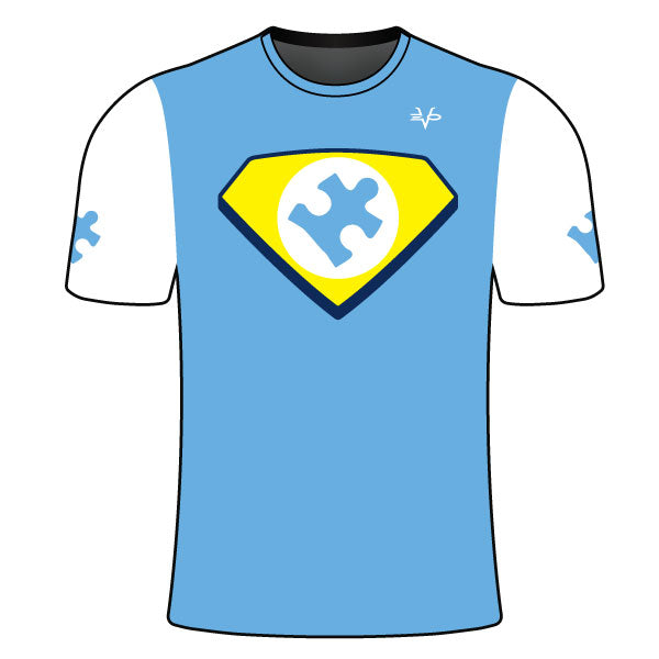 AUTISM HERO LOGO SHIRT