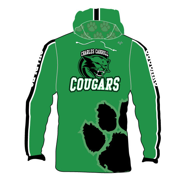 Evo9x CHARLES CARROLL COUGARS Sublimated Hoodie