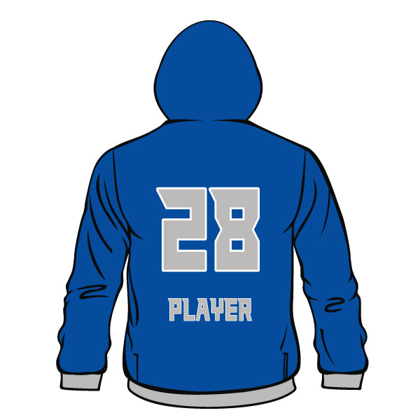 Evo9x BLUE JAYS Full Dye Sublimated Hoodie