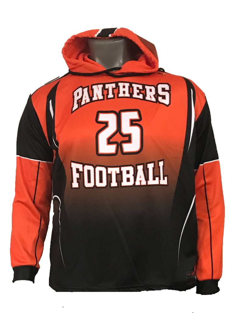 PANTHERS SUBLIMATED HOODIE