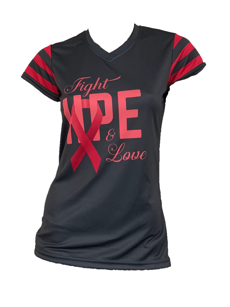Evo9x FIGHT HOPE LOVE Breast Cancer Awareness Full Sublimation Shirt