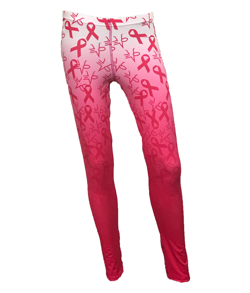 Evo9x HOPE Full Dye Sublimated Compression Leggings Pink/White