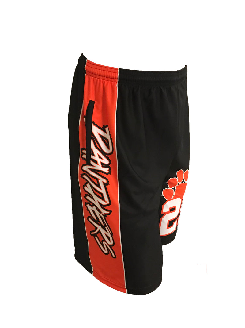PANTHERS SUBLIMATED SHORTS