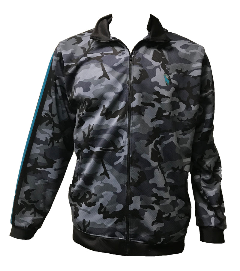Evo9x EVO Full Dye Sublimated Full Zipper Urban Camo Jacket