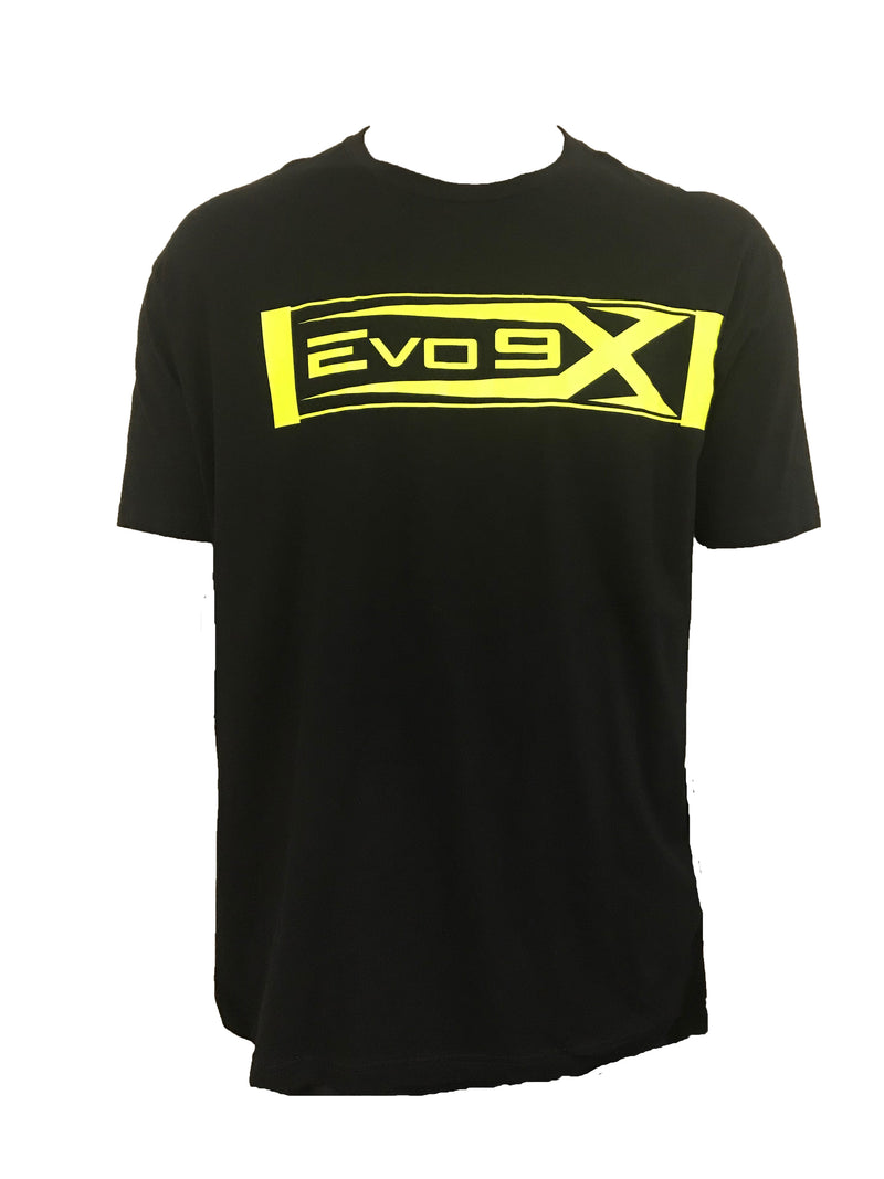 MENS BOXED EVO LOGO CREW NECK SHIRT CLEARANCE