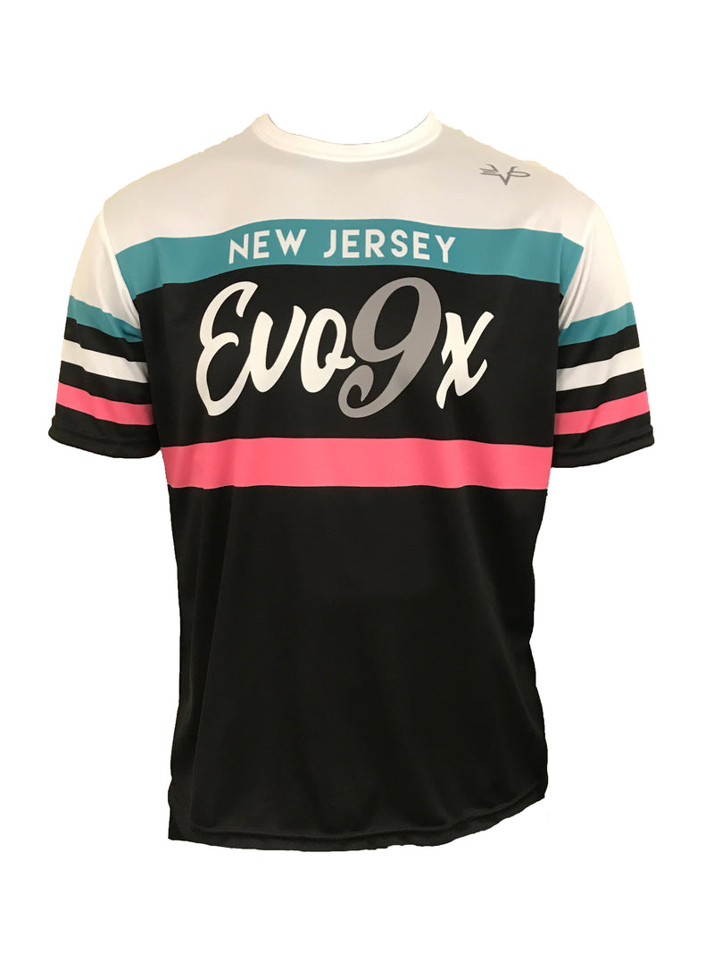MENS FULL DYE SUBLIMATED JERSEY SHORE RETRO SHIRT