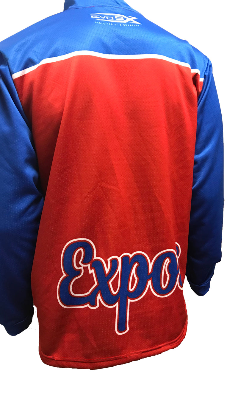 Full Dye Sublimated 1/4 Zip Pullover EXPOS