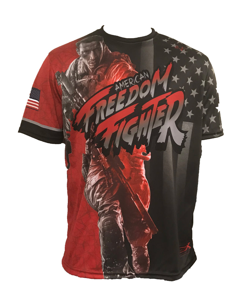 EVO FREEDOM FIGHTER SHIRT RED