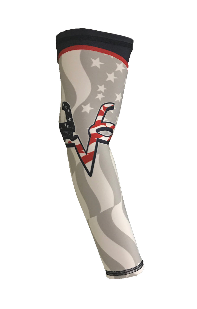 Evo9x EVO Flag Ghost Full Dye Sublimated Arm Sleeve