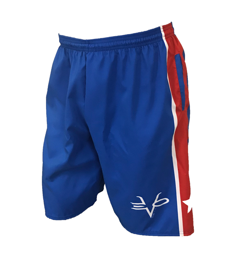 Evo9x EVO USA STRIPE Microfiber Shorts for July 4th