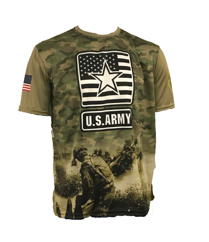 EVO ARMY STAR SHIRT