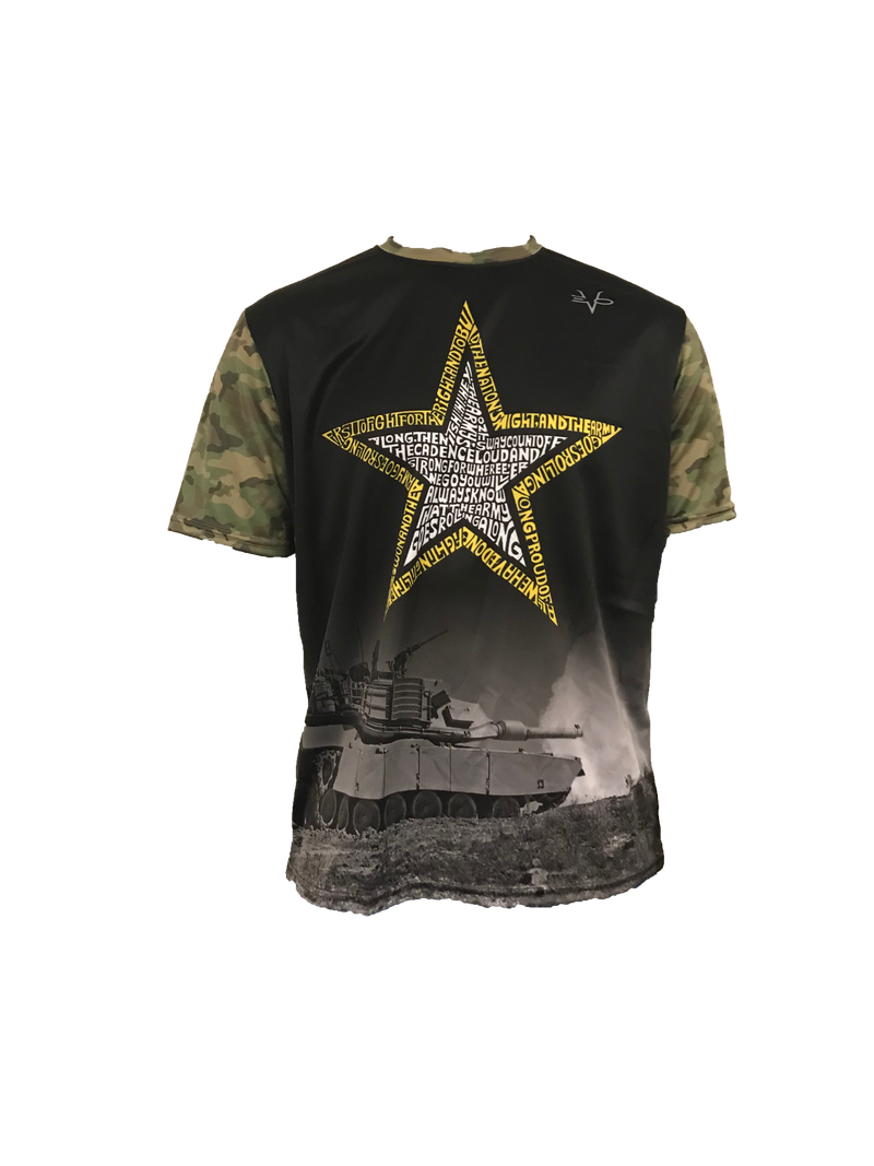 EVO ARMY STAR TEXT SHIRT