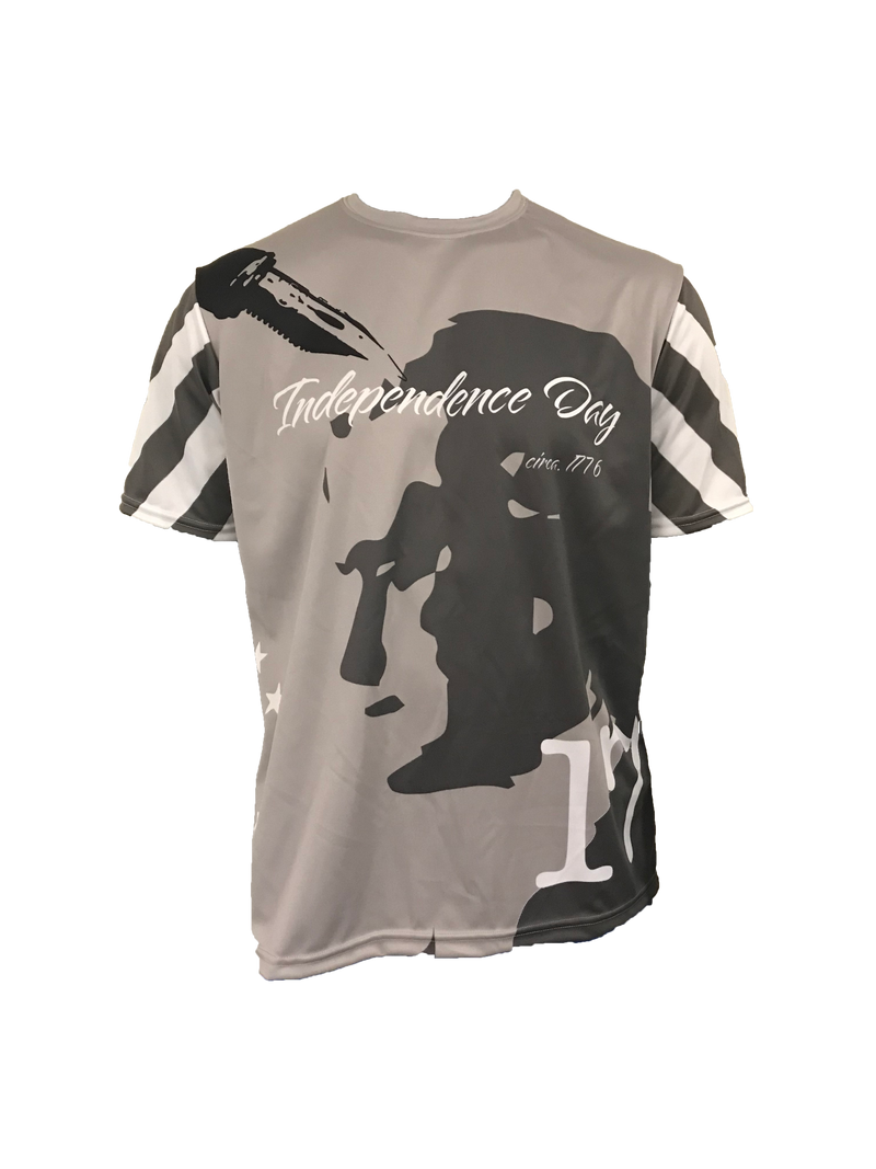 Evo9x INDEPENDENCE DAY-1776 Full Dye Sublimated Crew Neck Shirt