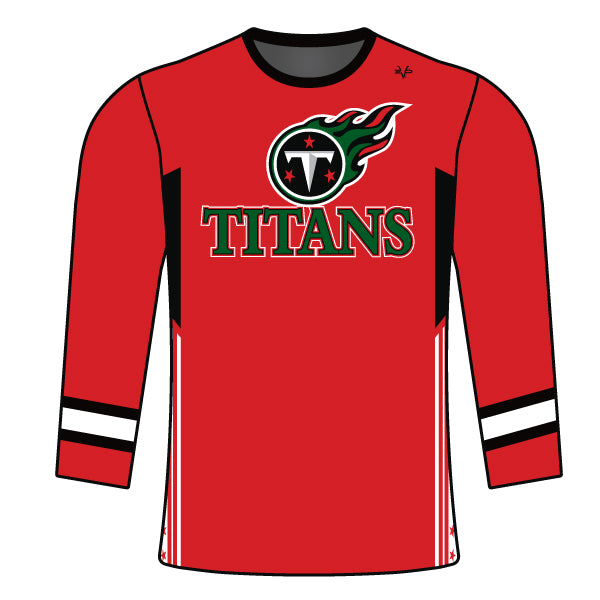 RIDGE ROAD TITANS LONG SLEEVE SHIRT