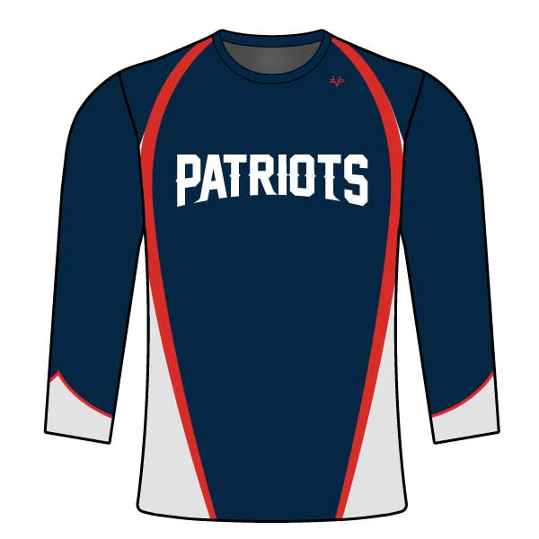 NM PATRIOTS LONG SLEEVE SHIRT