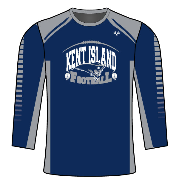 KENT ISLAND FOOTBALL LONG SLEEVE SHIRT